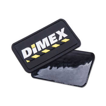 customized embossed logo PVC rubber patch for clothing with 3D logo Custom silicone sewing tags Private Brand Name for shoes