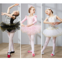 Ballet Dresses For Children In Pink Or White Or Black Princess Girls Kids Gymnastics Dance Dress
