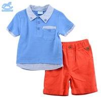 Luvena Fortuna 2pcs Baby Children Kids 2 Piece T Shirt Shorts Set H9618 Sold By JD