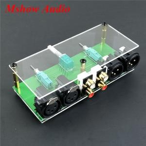 Image 2 - جديد متوازن تماما السلبي Preamp مجلس HiFi الصوت قبل مكبر للصوت XLR RCA وحدة تحكم في مستوى الصوت