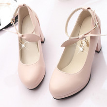 Woman Sandals Shoes 2018 Summer Style Wedges Pumps Square He