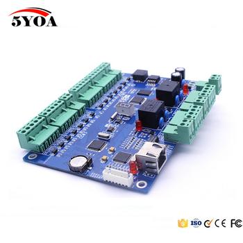 Tcp ip System kontroli dostępu RFID dostępu do drzwi Panel interfejs LAN kontroler dostępu do bramy dla dwóch drzwi tanie i dobre opinie 5YOA ACPTCP2