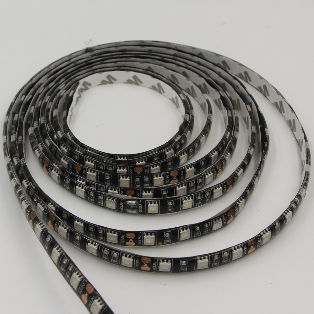 Aliexpress Com Buy 1m 50cm Led Strip 5050 3528 Dc 12v