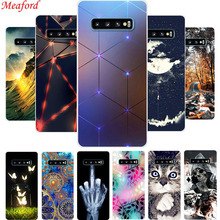 Hot Case For Samsung S10 Plus S10+ Cover Silicone Soft TPU Galaxy Funda S10e Coque