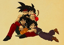 Dragon Ball Posters wall stickers (15 styles)