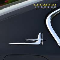 Stainless/ABS Door Side Body Molding Chrome Trim Cover For Volkswagen Passat B8 CC Passat 2Pcs/Set car accessories