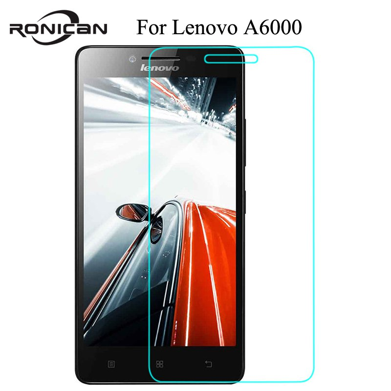 For Lenovo Lemon A6000 <font><b>6010</b></font> Tempered Glass Screen Protector 0.26MM 9H 2.5D Safety Protective Film On A6010 A6000-l A 6000 Plus image