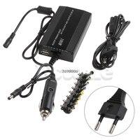 Для ноутбука в автомобиле DC зарядное устройство ноутбук адаптер переменного тока блок питания 100 Вт универсальный