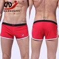 Nylon Casa Shorts Mens Underwear Boxers Homme Algodão Boxer Calzoncillos Cueca Gay Sexy Deslizamento Homme Gay Boxer Spandex