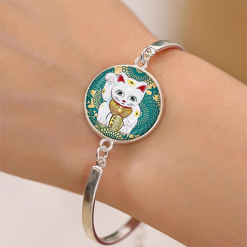 Japanese Neko Lucky Cat Handmade Bracelets