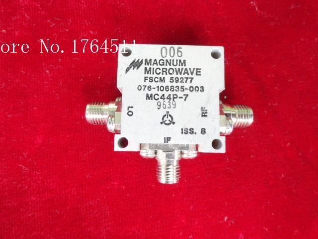 [BELLA] MAGNUM MICROWAVE MC44P-7 3.5-8.5GHz RF Coaxial Double Balanced Mixer