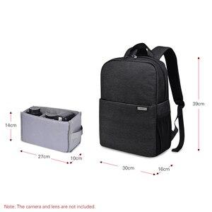 Image 3 - Caden l4 mochila para câmera dslr, bolsa de viagem, ombro, à prova de choque, para canon, sony, nikon, slr, lentes de câmera, tripods, laptop