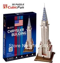 Chrysler Building CubicFun 3D educational puzzle Paper & EPS Model Papercraft Home Adornment for christmas gift