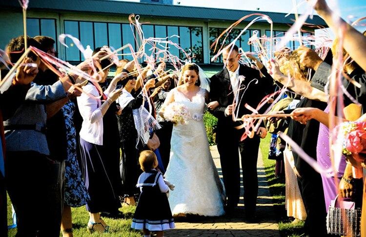 Mariée en ligne flux presque mariée