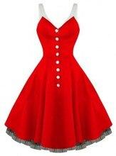 Freies verschiffen 1950 s retro kleid taste helle rot Rockabilly kleid Vintage Swing abschlussball-abend Party Kleid R2006