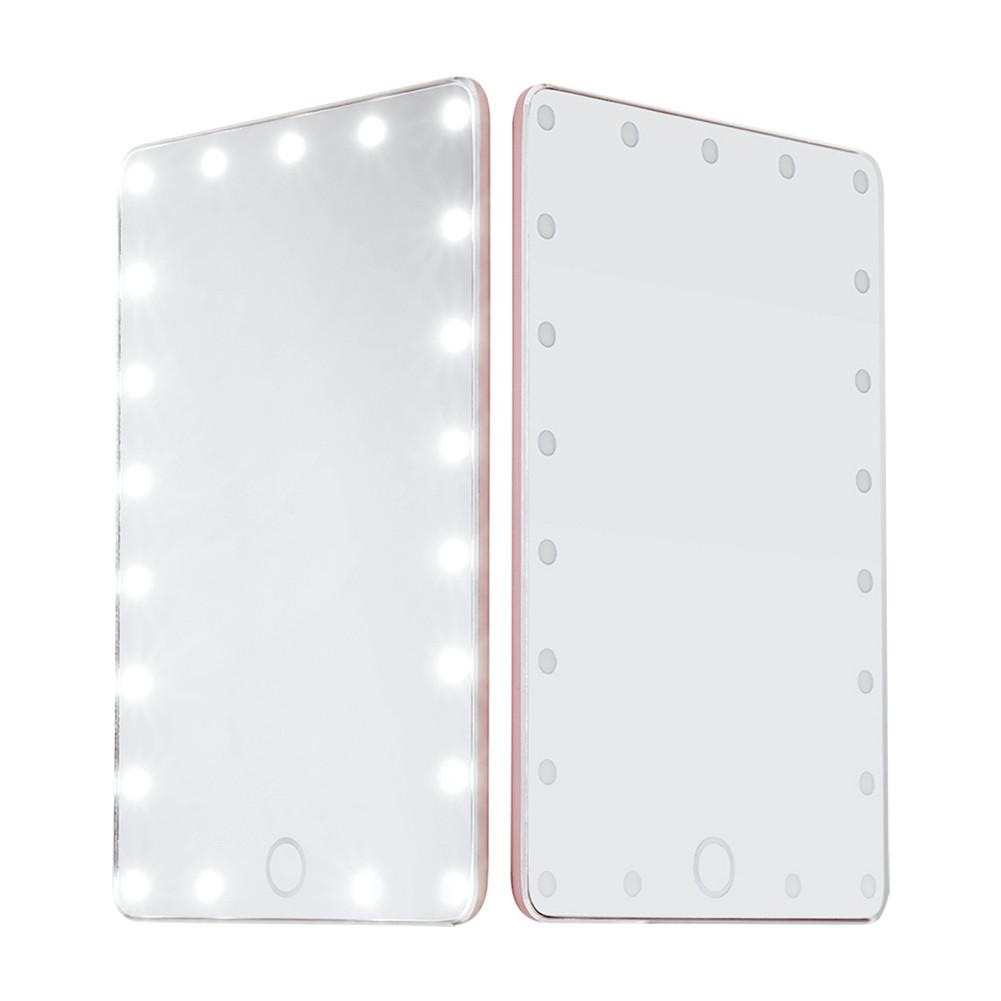 Portable LED Touch Screen Makeup Mirror Professional Vanity Mirror With Health Beauty Adjustable Beauty Countertop все цены
