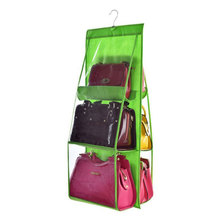 6 Pockets Hanging Storage Bag Organizer