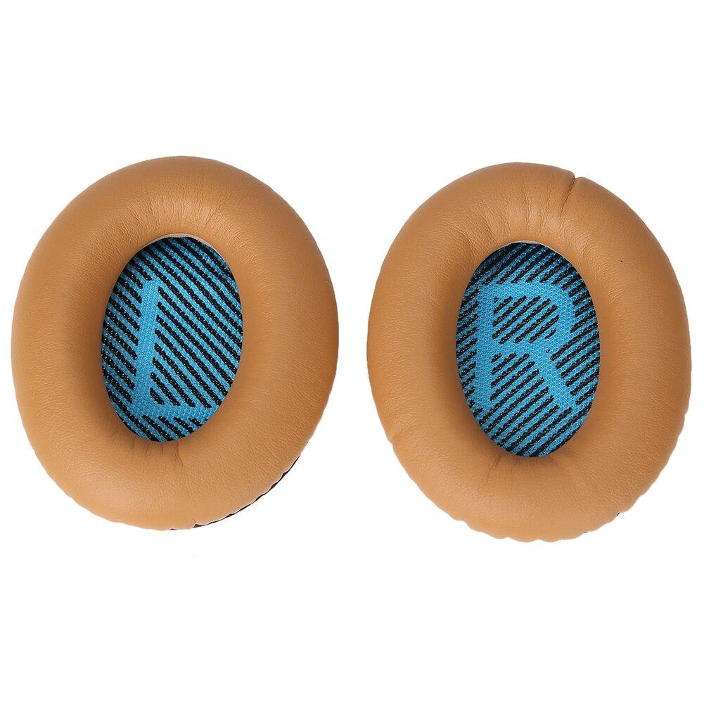 1 paire de Coussinets D'oreille Coussinets De Rechange Ear Pad Tapis Coussin pour BOSE pour Quietcomfort 2 QC2 QC15 Casque Mousse haute Qualité