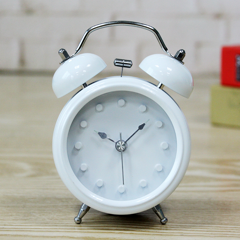 1pc Minimalist Alarm Clock Luminous Nightlight Alarm Clock