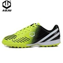 AOJU Soccer Football Shoes Unisex Boots TF Turf / AG Adult Children EU Size 33-45 Train Sneakers Futbol