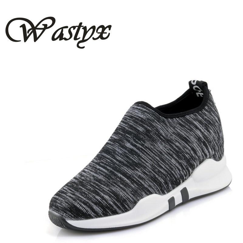 Wastyx new Women Sneakers Vulcanize Shoes Air Mesh Tenis Feminino Fashion Summer Ladies Casual Shoes Women slip on Footwear Shoe