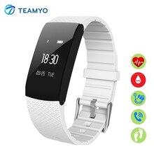 Teamyo A89 Смарт-часы монитор сердечного ритма кровяного давления кислорода Шагомер фитнес-трекер Smart Браслет IP67 водонепроницаемый