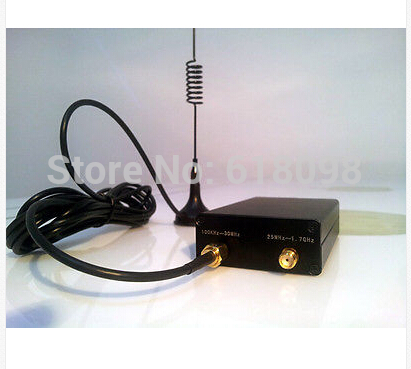 1PC RTL SDR receiver radio SDR rtl finished products best Chip RTL2832 rtl SDR receiver 100KHz