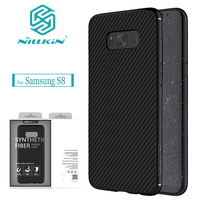 Nilkin For Samsung Galaxy S8 Case NILLKIN Carbon Synthetic Fiber Back Cover Case For Samsung Galaxy