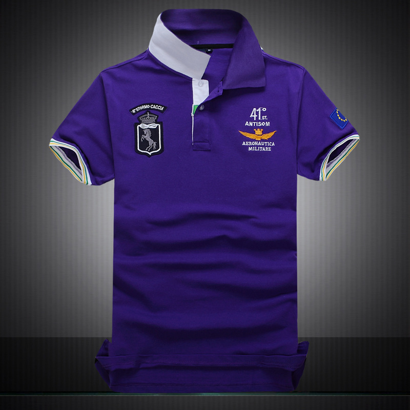 Asstseries summer 100% cotton Short sleeve one T-shirt men