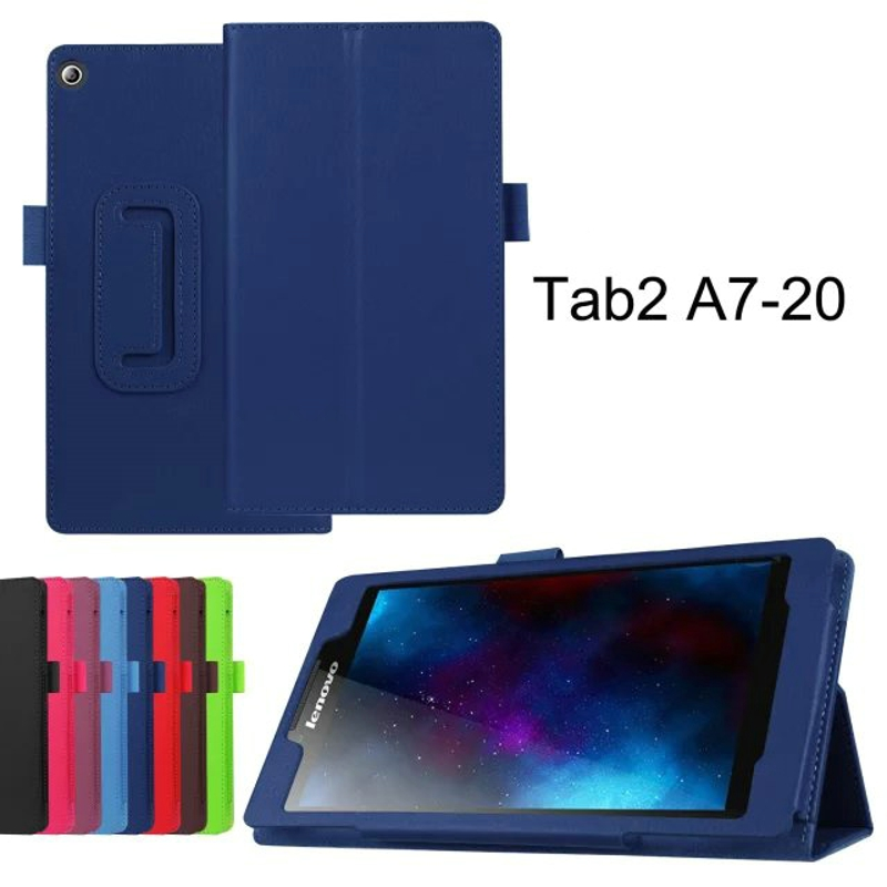 2-Folder Luxury Folio Stand Holder Funda protectora de piel cubierta - Accesorios para tablets - foto 4