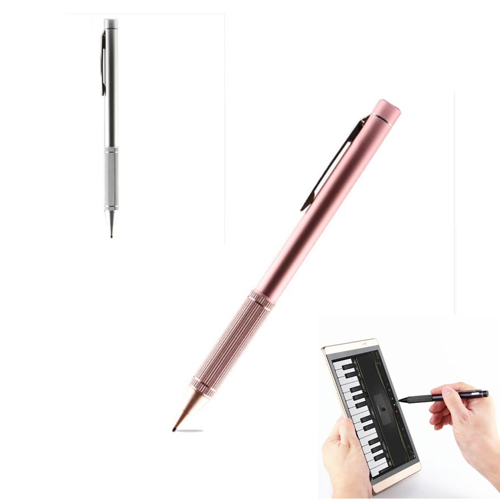 NIB1.4 mm Active Stylus Capacitive Touch Screen For Teclast Tbook 10s T10 T20 P80H Octa X10 X98 HP Elite X2 G1 G2 Tablet pen active pen capacitive touch screen for teclast tbook 10s t10 p80h 98 octa x10 x98 hp elite x2 g1 g2 tablet stylus pen nib1 4mm