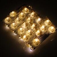 3 m 40 LEDs Árvore de Natal Modelagem Luzes Bateria Operado Luzes LED String Fada Luzes De Natal À Prova D' Água Com Controle Remoto & temporizador