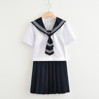 New Arrival Novelty Japanese School Uniforms Summer autumn Sailor Hell Girl anime Cosplay Girls Suit Uniform JK Sets S XXL