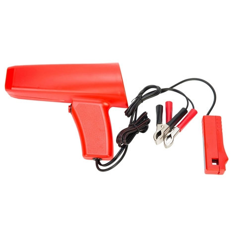 Engine Ignition Inductive Timing Light Automotive Lamp Strobe Tester-Gun Ignition Strobe Timing Lamp/Light Free Plug Tester