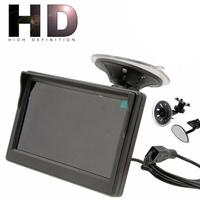 5 800 480 TFT LCD HD Screen Monitor For Car Rear Reverse Rearview Backup Camera SP12