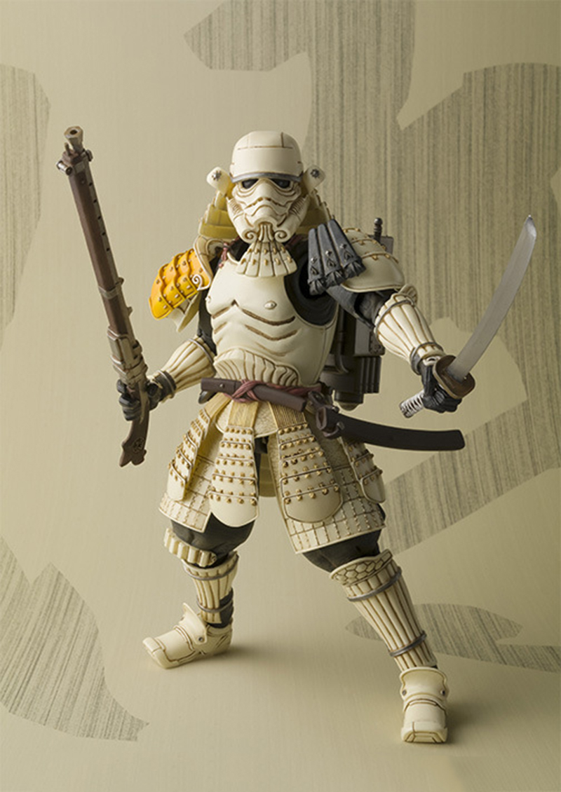 Star Wars Movie Realization Ashigaru Stormtrooper Action Figure PVC toys game figure Collection Model Toy for Anime Lover  N130 free shipping super big size 12 super mario with star action figure display collection model toy