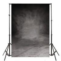 1pc 5x10FT Retro Black Grey Photography Background Abstract Grey Photo Studio Backdrops Props Large Size Mayitr