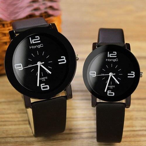 379e949926b Yazole 2018 Mulheres Homens Amantes Casal Relógios Top Marca Famosa relógio  Feminino Masculino Relógio Relógio de Quartzo para Os Amantes 1 Par   2  peças em ...