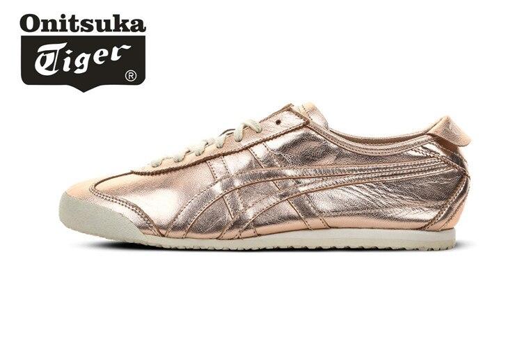 4ee376f2 ONITSUKA TIGER México 66 mediados corredor clásicos cuero zapatos hombres y mujeres  Zapatillas Zapatos deportivos de bádminton EUR 36 44 en Zapatos del ...