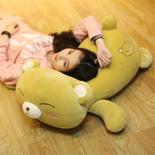 Fancytrader Big Soft Bear Plush Toys Cute Stuffed Lying Teddy Pillow Doll 90cm 35inch