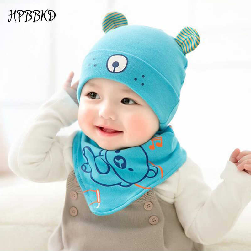 Детские головные уборы hpbbkd шапочка для новорожденного ребенка набор 2 шт./лот