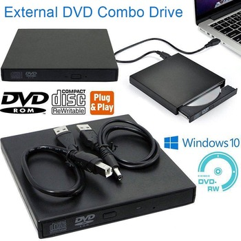 USB External DVD CD RW Disc Writer Player Drive for PC Laptop SL@88