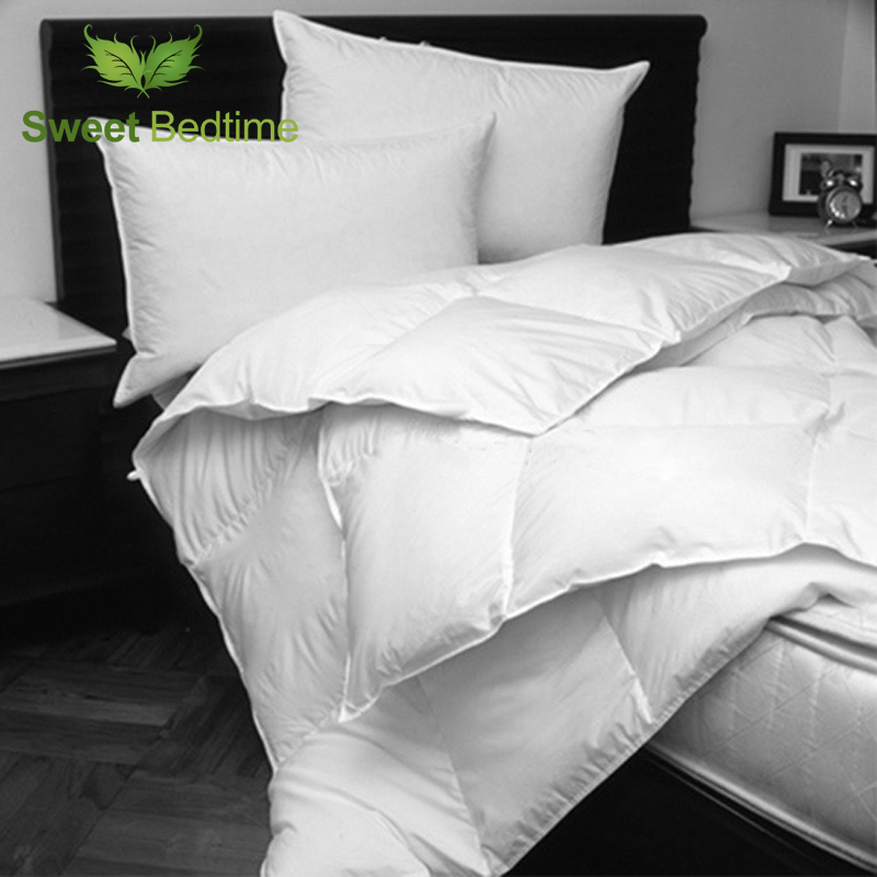 Hotel microfiber quilt inner 233 TC Synthetic Fill Dual Warmth winter Comforter inset twin king queen down like comforters cores