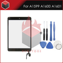 2Pcs Nieuwe Zwart Wit Voor A1599 A1600 A1601 touch panel screen 7.9 ''Voor iPad mini 3 Display Touch panel Glas Met Tool Set(China)