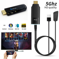 EZCAST 1 2 5G HDMI HDTV Dongle Dual Band HD Wireless WiFi Miracast Airplay DLNA TV Stick Display Video Adapter for iOS Android