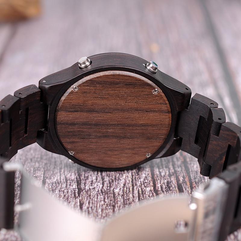 BOBO BIRD LED reloj de pulsera digital Relojes deportivos para hombre - Relojes para hombres - foto 3