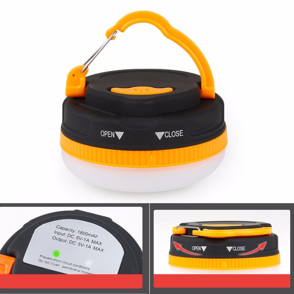 Multifunctional Outdoor Camping Tent Lights LED Flashlight Portable Lantern Emergency Lamp Torch Outdoor Activity accessor