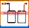 High Quality For HTC Wildfire S G8S A510E G13 Touch Screen Digitizer Glass Panel Free shipping