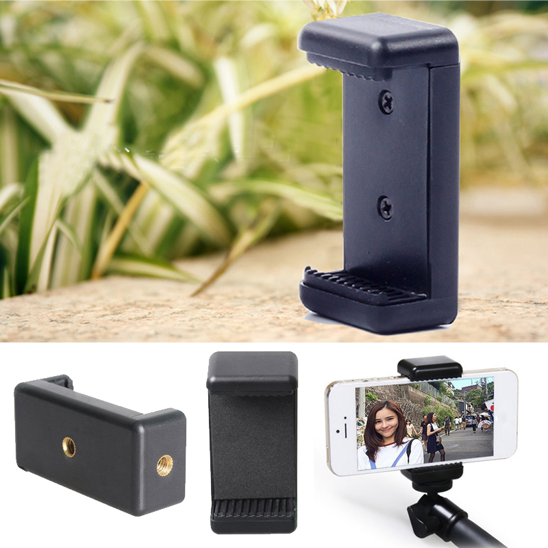 Universal Mobile Phone Clip Clamp Bracket Phone Holder Tripod Cell Phone Stand Support Retractable Desk Mount For Live Broadcast