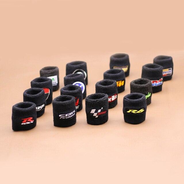 אופנוע שחור בלם קדמי מאגר גרב עבור Ducati Corse 848 1098 1198 Corse/Evo/R/S נוזל שמן בלם טנק כיסוי שרוול